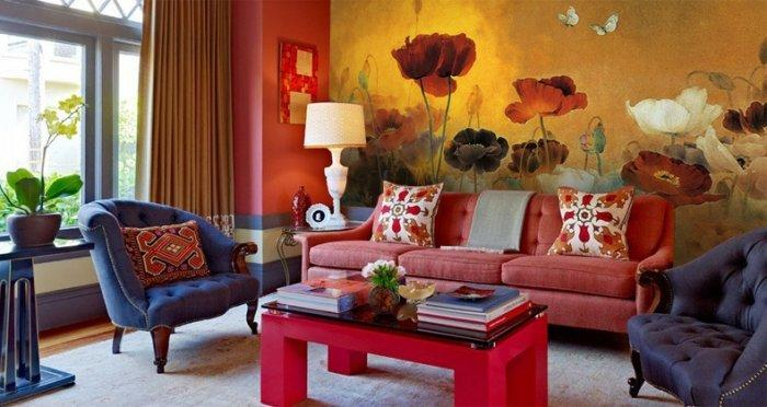 Latest Autumn Winter 2013 Trends In Interior Design Colors