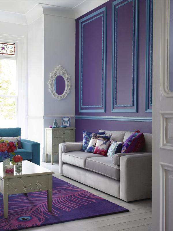 Violet Room Design: Interior Design Trends In Colors For Autumn/Winter 2013