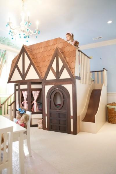 Girl princess castle loft bed - 20 Totally Extravagant Fantasy Home Furniture Pieces