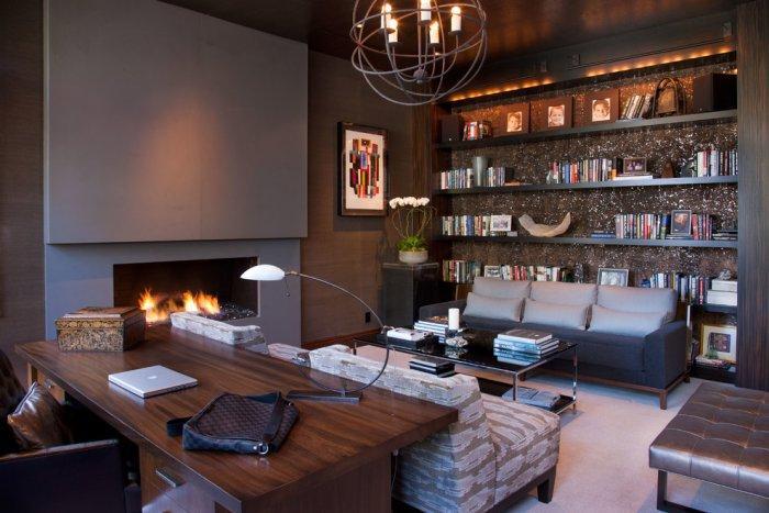 Glamorous luxury living room design - 8 Residential Interior Design Inspiring Examples