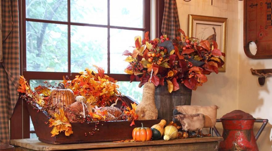 Kitchen Autumn Colors Decor