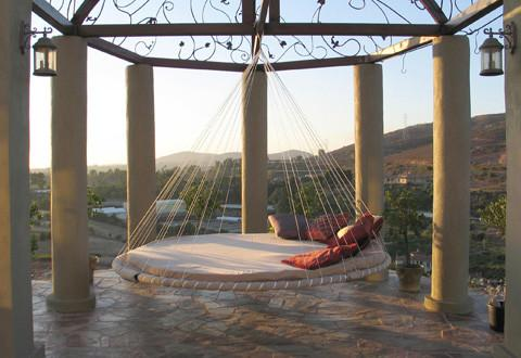 Outdoor hammock bed - 20 Totally Extravagant Fantasy Home Furniture Pieces