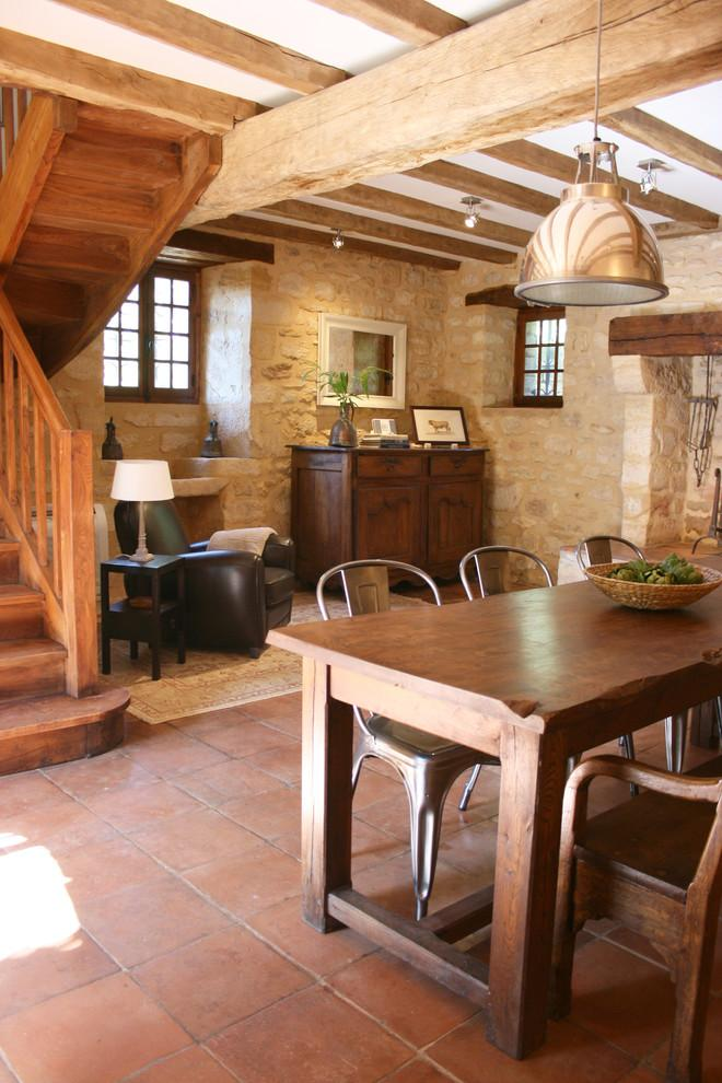Rustic French Kitchen With Charming Character   La Maisonnette   A Romantic  French Cottage