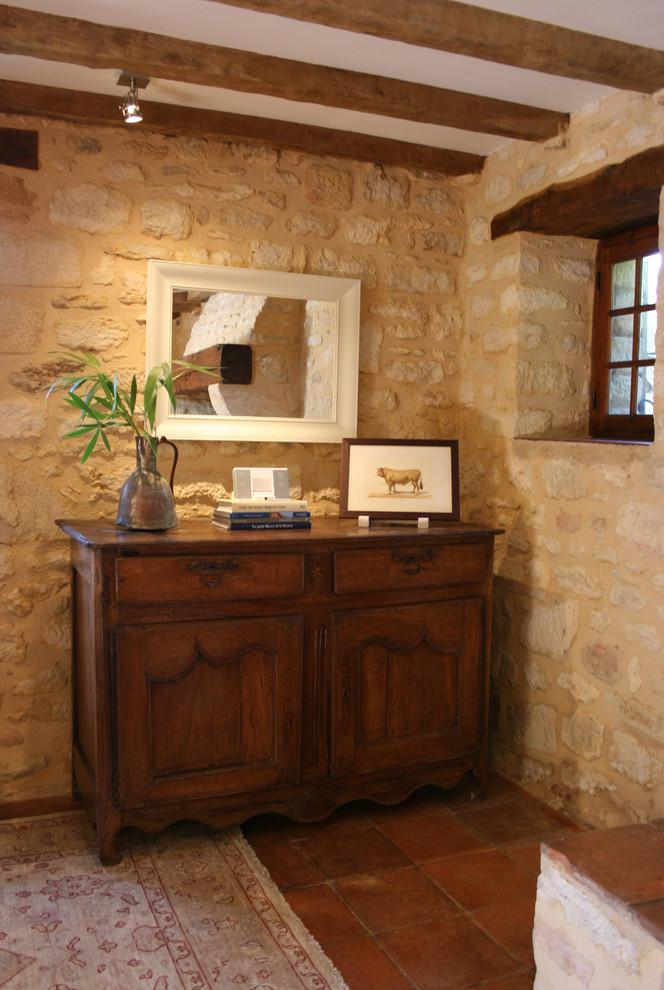 Rustic French sideboard from the 17th century - La Maisonnette - A Romantic French Cottage