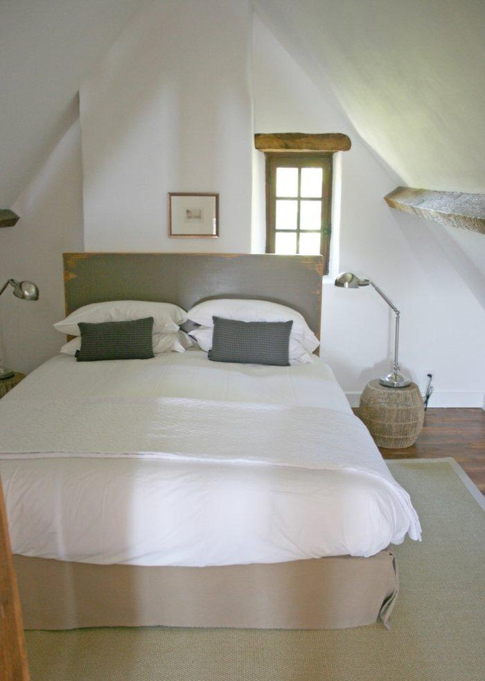 The master bedroom on the third floor - La Maisonnette - A Romantic French Cottage