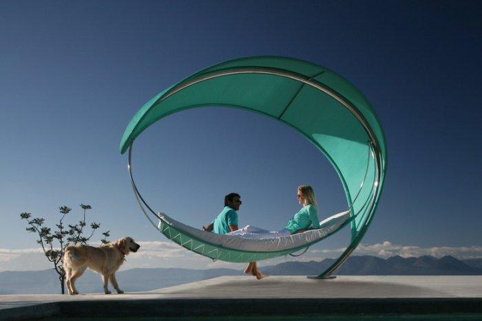 Wave hammock for contemporary living - 20 Totally Extravagant Fantasy Home Furniture Pieces