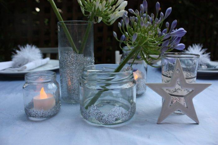 Christmas dinner in the summer-1-30 Easy and Simple DIY Christmas Decoration Ideas