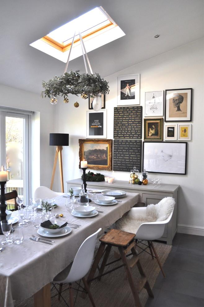 Modern holiday dinner party-30 Easy and Simple DIY Christmas Decoration Ideas