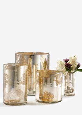 Antique mercury glass vases - Lovely Decorating Ideas with Scandinavian Touch
