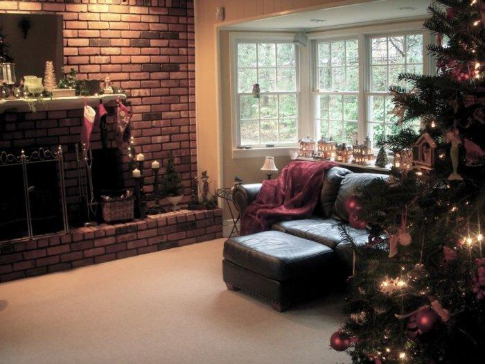 Beautiful and stylish living room decorations - 10 Simple and Elegant Christmas Decorating Ideas