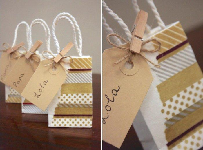 Beautiful and charming name tags - Lovely Hand-crafted Christmas Decorations