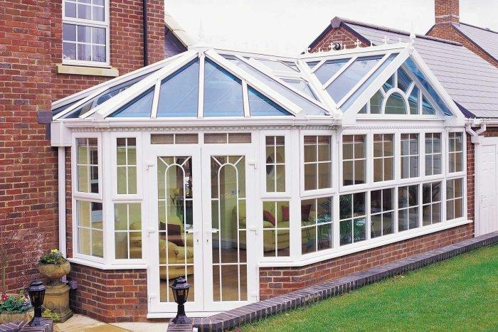 Beautiful glazed conservatory that allows a lot of sunshine inside the house - Benefits of your bespoke conservatory