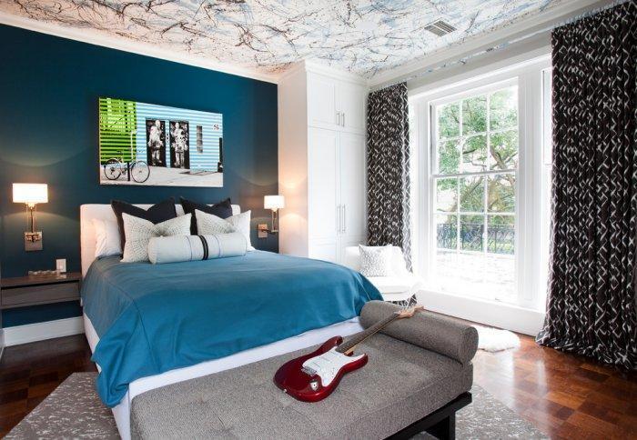 Boy's room in classic interior design style - Refined Mansion with Elegant Touch in Houston