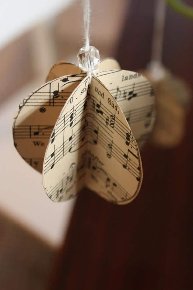 Charming hanging item for tree - Lovely Hand-crafted Christmas Decorations