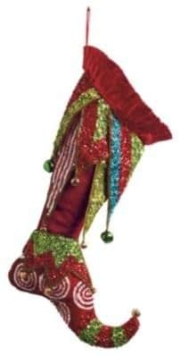 Enchanted Christmas Stocking-20 Christmas Stockings Ideas that Cheer Up the Interior