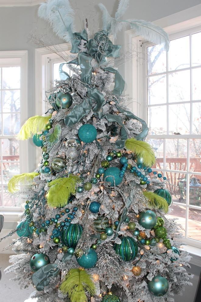 Great colorful ideas for home christmas decorations
