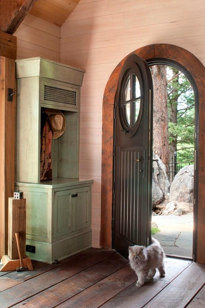 Fairy tale entry door - Small Art Cottage near Rocky Mountains, Colorado