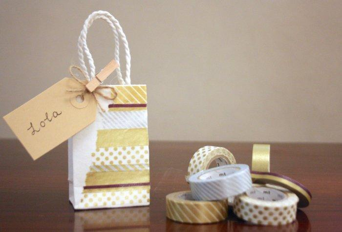Hand-crafted Christmas gift bag - Lovely home decoration ideas