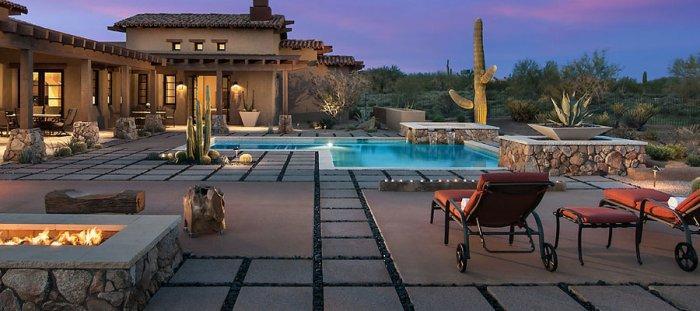 uxury Rustic Family Desert House in Arizona
