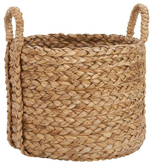 Beachcomber Sea Grass Basket, Round, Extra Large-20 Fantastic Cheerful Ideas for Christmas Tree Skirts
