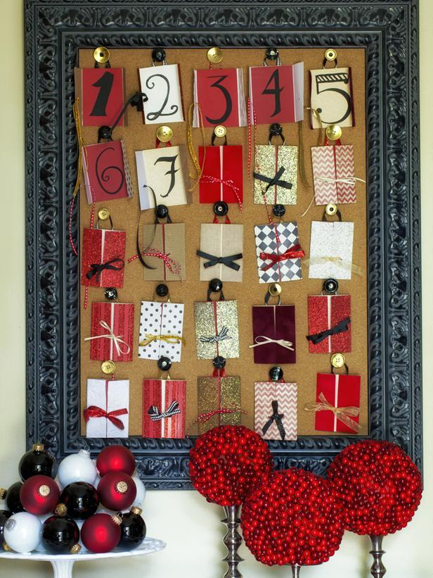 Christmas advent calendars 14 charming diy ideas for Diy christmas advent calendar ideas
