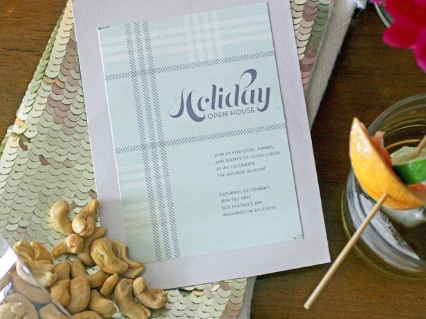 Home party invitation - Christmas Table Decoration Ideas