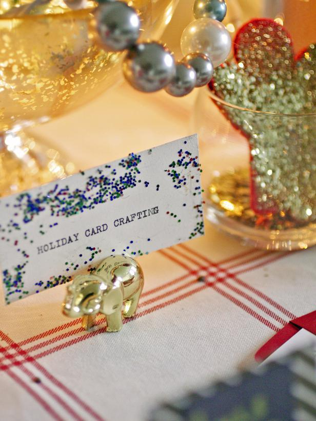 Double-Duty Party Decor - Christmas Table Decoration Ideas