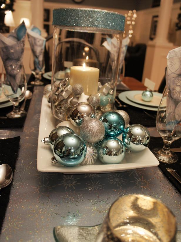 Reflective Quality -36 Eye-Catching Ideas for a Holiday Table