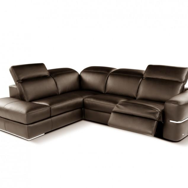 Brown leather home furniture