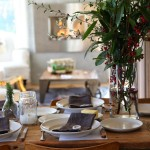 How to Decorate Our Christmas Table – Vintage Ideas