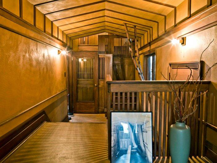 Corridor leading to Wright's studio - Christmas Home Decor Ideas and Examples
