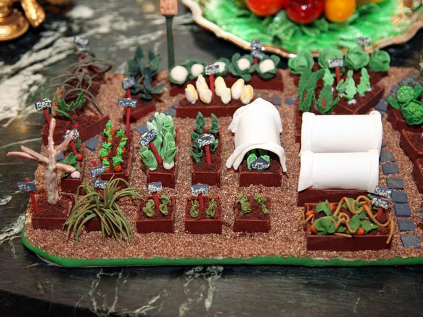 A detailed look over the gingerbread house - Holiday Ideas from America's First Home