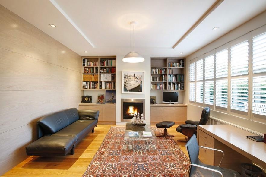 An elegant home interior