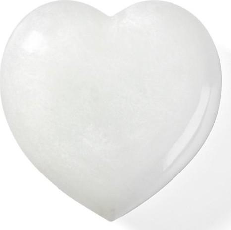Alabaster Heart- Love home decor for February 14th