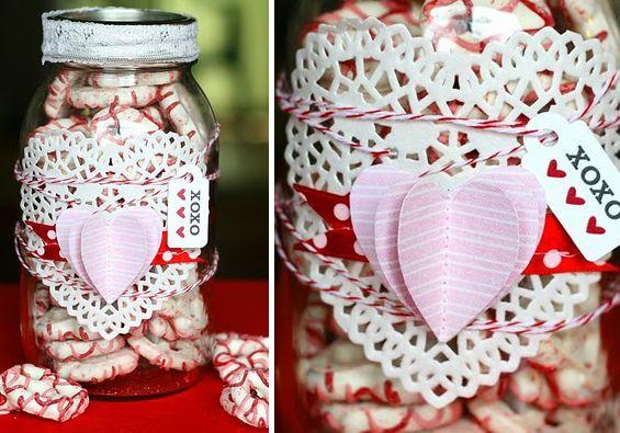 CANDY JAR- Home decoration ideas for February 14th