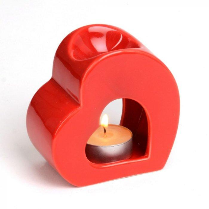 Ceramic Heart Oil Diffuse -Valentine's Day Items & Ideas for Themed Decoration