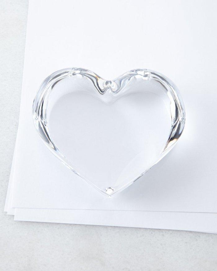 Heart Paperweight-Love home decor for February 14th