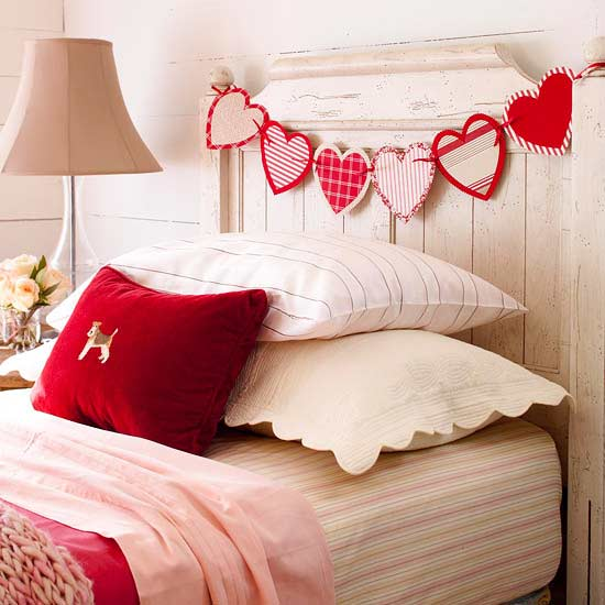Heart-to-Heart Garland - Easy DIY Handcrafted Valentine's Day Decor