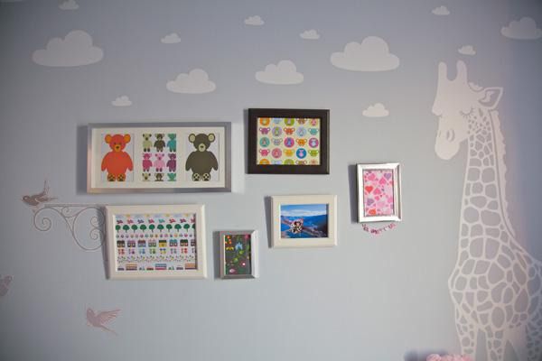 Kids room wall decorated with various illustrations - Simplicity Design by Urban Design & Build Ltd