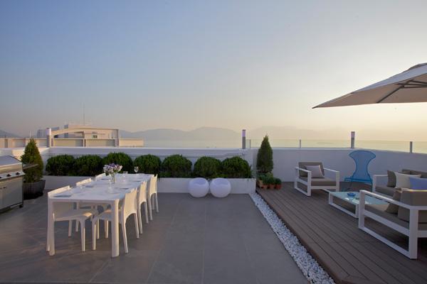 Elegant rooftop terrace - Simplicity Design by Urban Design & Build Ltd