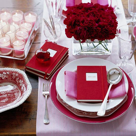 Memory Keeper Table Setting - Easy DIY Handcrafted Valentine's Day Decor