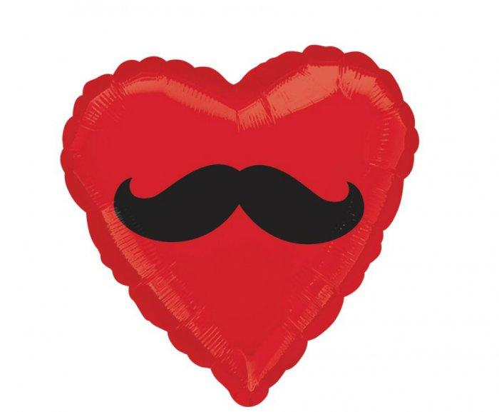 Moustache Heart Balloon- Lovely Items for Home Decoration