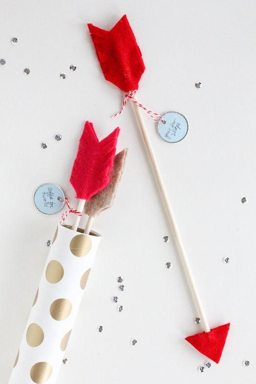 Valentine's Day Arrows-Home decoration ideas for February 14th