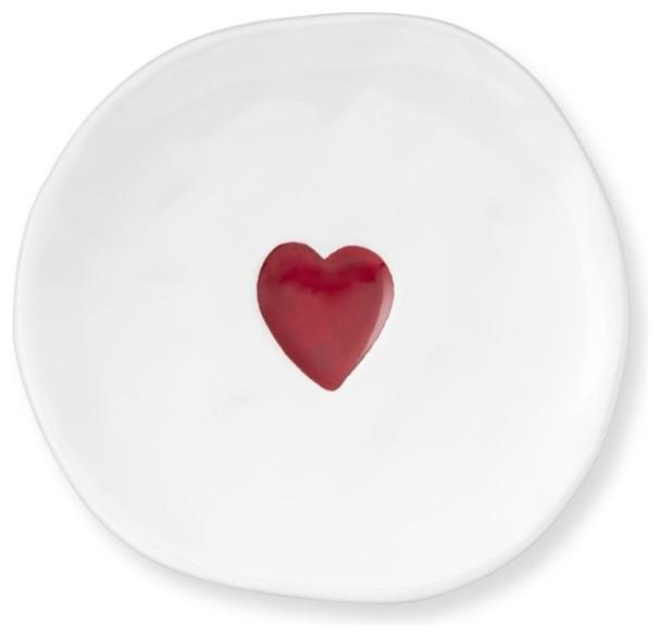 Valentine's Day Plates-Love home decor for February 14th