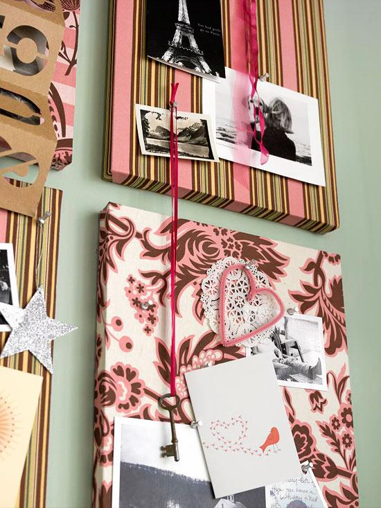 Valentine Memory Boards - Easy DIY Handcrafted Valentine's Day Decor