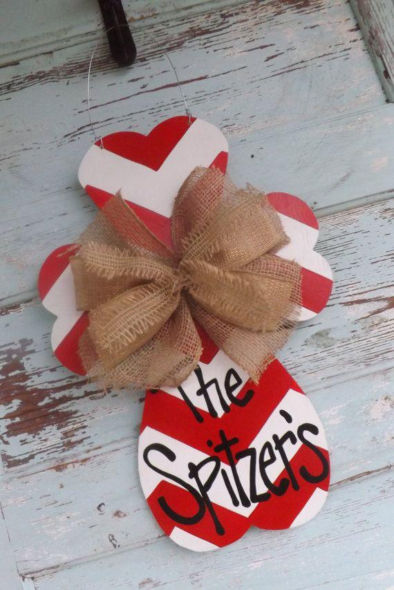 Valentine's Door Hanger Valentine's Day Cross-Home decoration ideas for February 14th