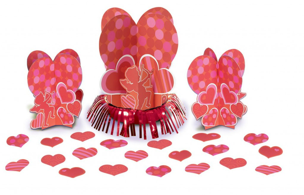Valentines Table Decorating Kit- Lovely Items for Home Decoration