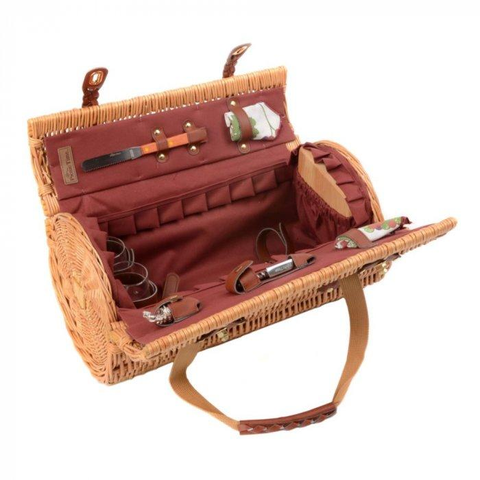 Verona Red Wine & Cheese Picnic Tote Set -Valentine's Day Items & Ideas for Themed Decoration