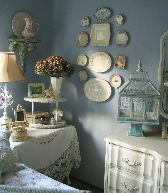 A romantic bedroom in a vintage Californian home - Valentine's Day Ideas and Inspiration
