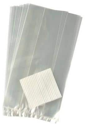Interesting and Funny Approach to Saint Valentine's Day - Clear Cellophane Favor Bags